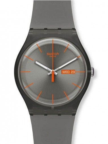Swatch Mens Warm Rebel Watch SUOM702 at £44.50