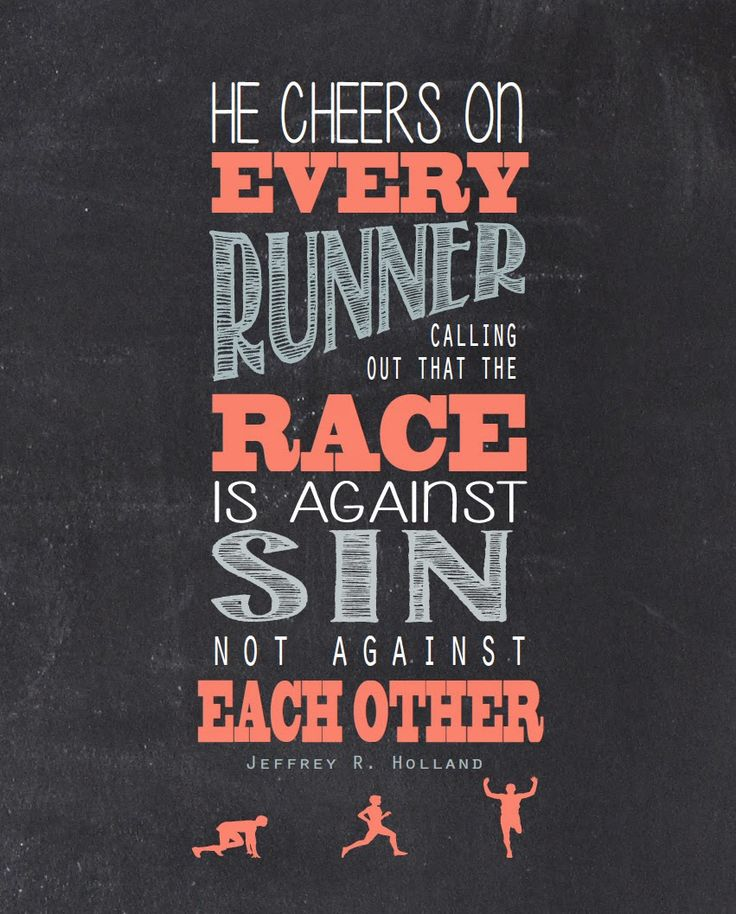 Race Against Sin. Jeffrey R Holland