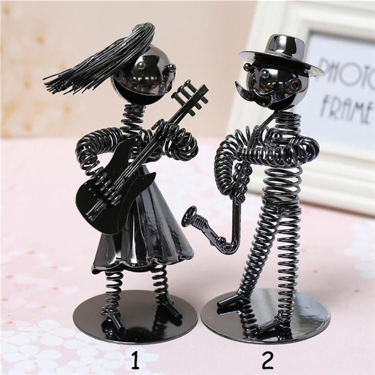Aliexpress.com : Buy chic modern Chic Metal Creative Decoration Small Iron Man Band Home Crafts Ornament Office Furnishing Articles table decor 35 from Reliable decorative decorative suppliers on Qcloud Sophie Store
