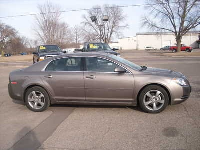 2011 Chevy Malibu: Courtney's current ride. Just make it silver