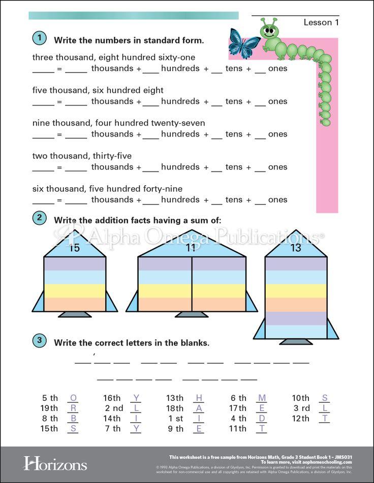It's just a photo of Satisfactory Printable Homeschool Worksheets