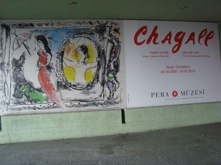 Pera museum wellcome's Chagall !!!