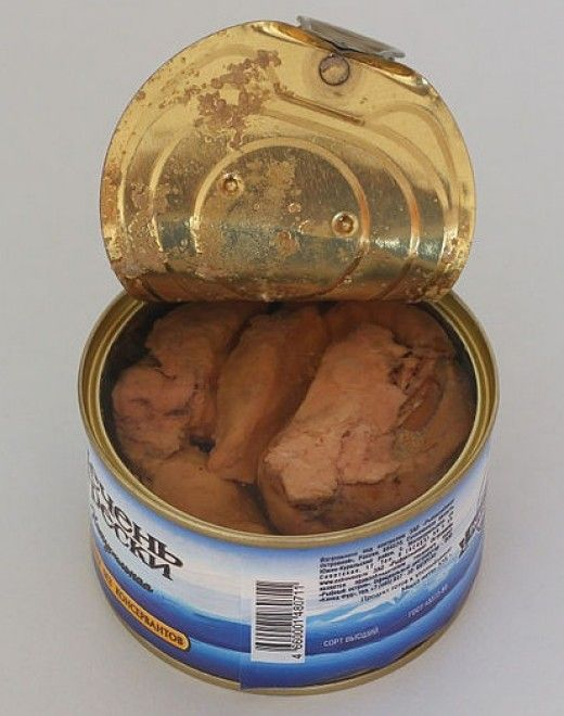 The healthiest choice is fish canned in spring water from a reliable and established brand and country with good health standards