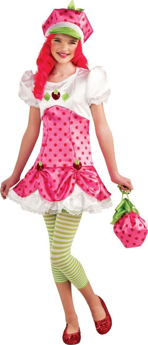 strawberry shortcakeStrawberry Shortcake Costume Teen
