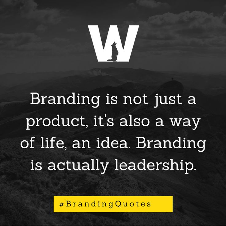 Brands create purpose and give our lives meaning.
