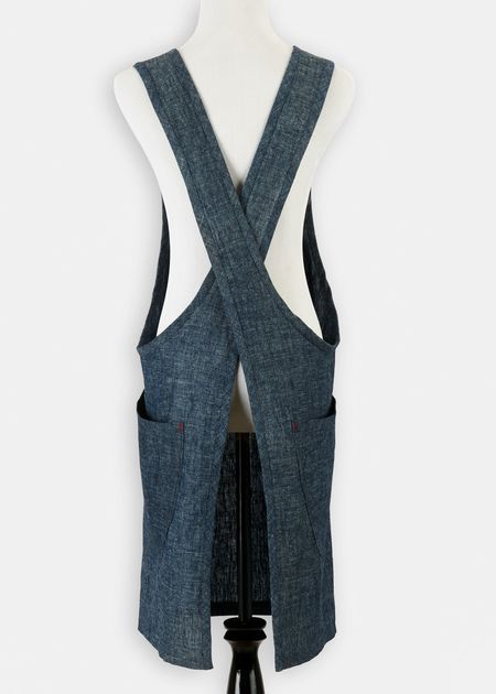 No-Tie Modern Apron. $88 for finished product