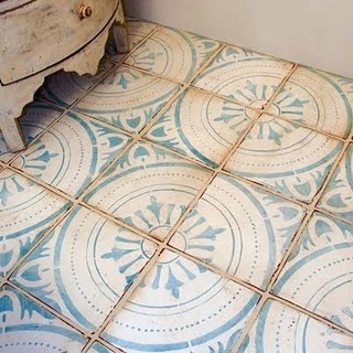 Tabarka Studio Moroccan Turquoise Floor Tile