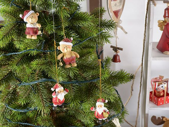 Orsetti di Natale su  http://www.idea-piu.com/store/1/addobbi-e-decorazioni-1023