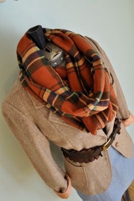 H is for Handmade: Infinity Scarf - Tutorial
