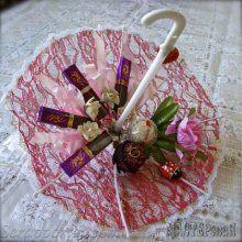 Персональные сладкие зонтики (свит дизайн, идеи)