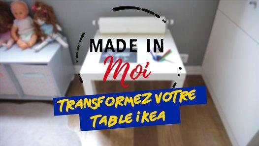 #ikeahack Transformez votre table #ikea Malm en table à dessin !