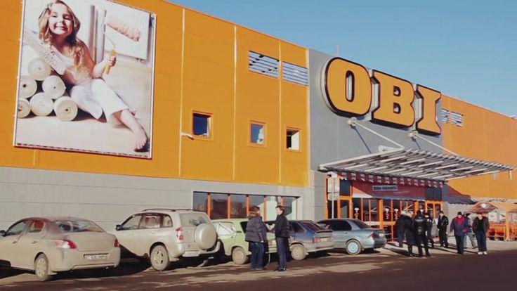 Открытие гипермаркета OBI в Саратове.