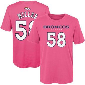 Von Miller Denver Broncos Ladies Player T-Shirt #broncos #denver #nfl