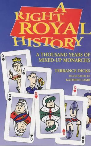 """""""Right Royal History Pb"""" av Terrance Dicks 'A Book you got from a used book sale'  FINISHED"""