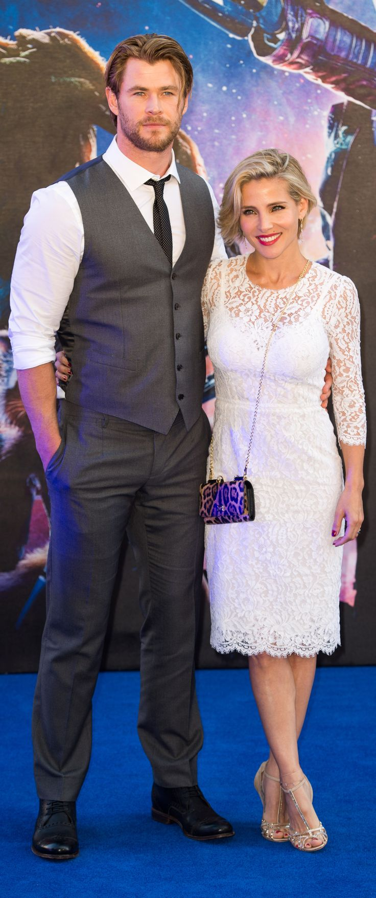 Chris Hemsworth and Elsa Pataky on the red carpet.