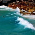 Surf's up at Tamarama