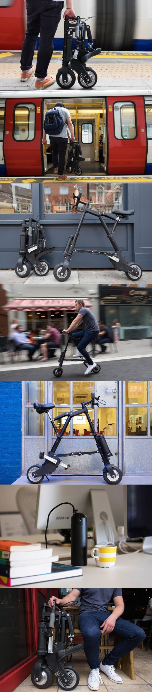 For freedom and fun on your daily urban journeys, the #A-Bike #Electric was…