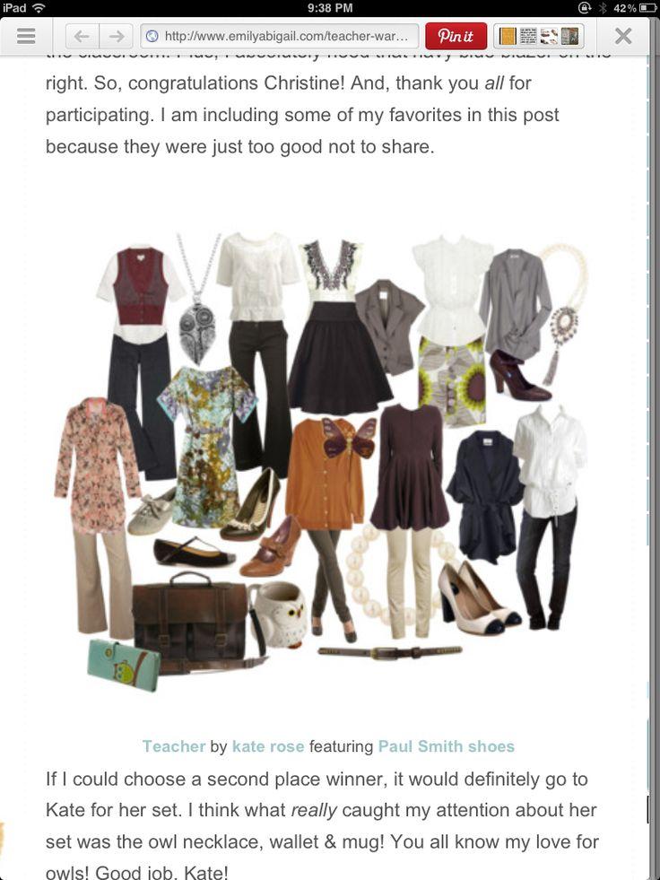 243 best images about A Teacher's Wardrobe on Pinterest | Teacher ...