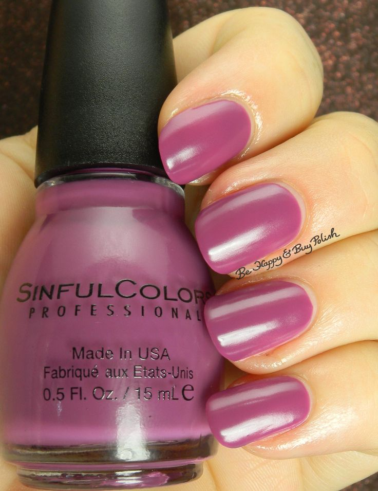 Sinful Colors Hazed | Be Happy And Buy Polish http://behappyandbuypolish.com/2015/08/06/sinful-colors-a-class-act-nail-polishes-partial-collection/