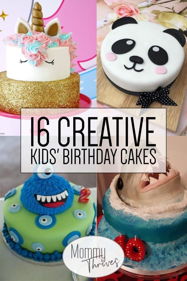 16 Brilliant Birthday Cakes For Kids Easy Kids Birthday Cakes