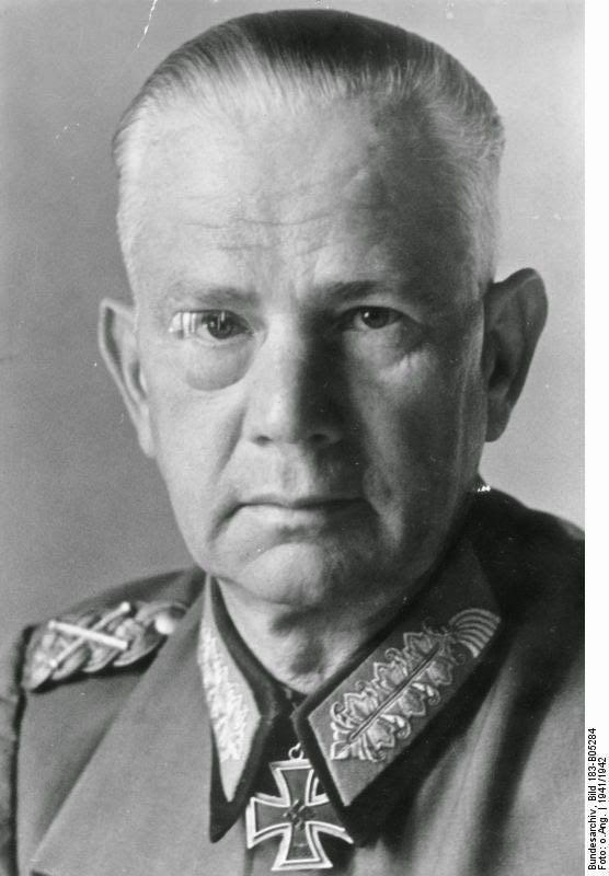 """Walter von Reichenau (1884-1942) was a German officer and Generalfeldmarschall during World War II. He was an antisemite who equated Jews with Bolshevism and the perceived Asian threat to Europe. He issued the notorious """"Severity Order"""" of October 1941 concerning fighting on the Eastern Front which made him a war criminal. The Reichenau order paved the way for mass murder by instructing his officers that all Jews were to be treated as de facto partisans, and commanders were directed that…"""