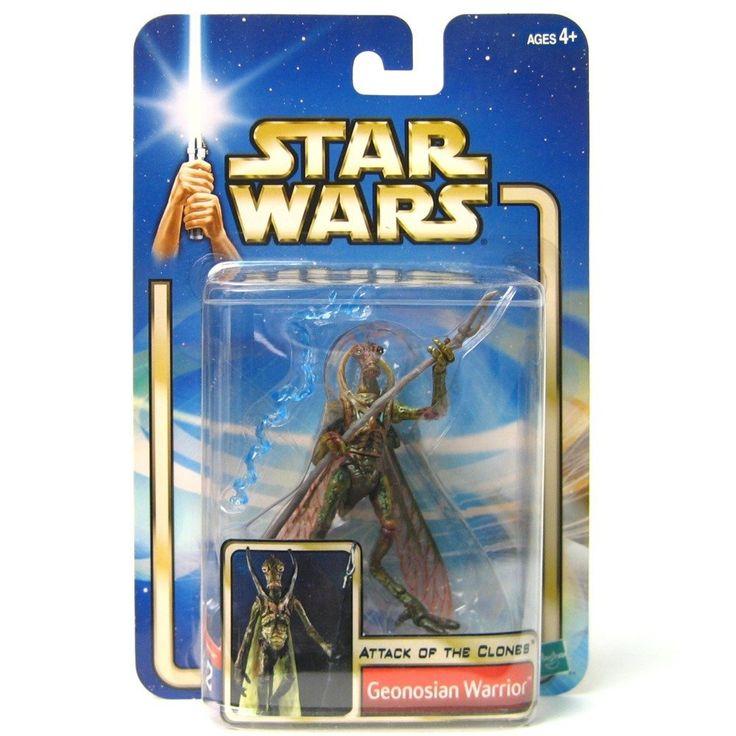 Star Wars: Episode 2 Geonosian Warrior (With Backdrop) Action Figure