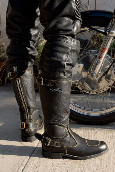 Amazing motorcycle boots
