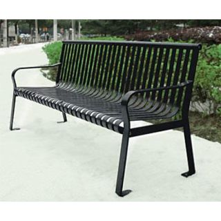 Northgate Metal Park Bench | Outdoor Steel Benches | The Bench Factory