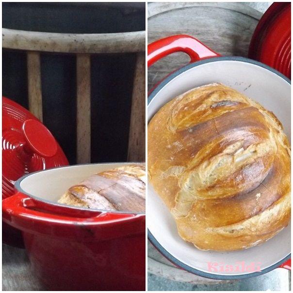 ...vagyis a dagasztás nélküli kenyér, ami maga a csoda. Dagasztás nélkül lyukacsos, ropogós héjú kenyér, szinte semmi munkával. Ez maga a t...