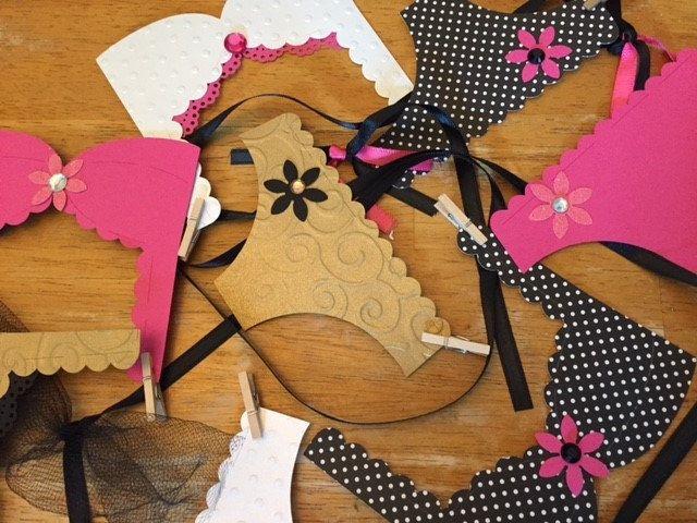 Lingerie Bachelorette Party Decoration, Lingerie Banner, Bridal Shower, Lingerie Party, Kate Spade Theme #babyshowerideas4u #birthdayparty  #babyshowerdecorations  #bridalshower  #bridalshowerideas #babyshowergames #bridalshowergame  #bridalshowerfavors