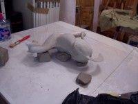 Voici mes notes et expériences des étapes de réalisation d'un MOULE EN ELASTOMERE d'une sculpture en vue d'un tirage en cire destiné à la…