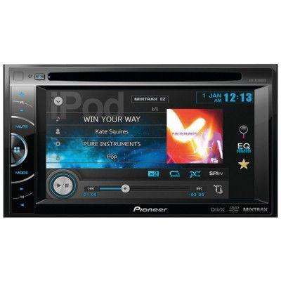 Aparelho de Som Pioneer 2013 MODEL AVH-X1500 DVD / AVHX1500 DVD In-Dash 6.1 Touchscreen #Aparelho de Som #Pioneer