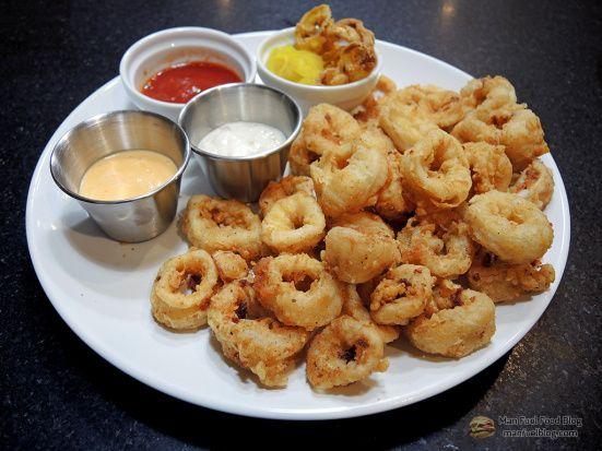 Restaurant Style Fried Calamari Recipe with Light Breading | Man Fuel Food Blog