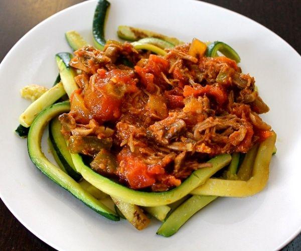 Paleo Nana's Slow Cooked Meaty Tomato Sauce
