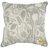 Sainsbury's Harvest Printed Linen Cushion 50x50cm