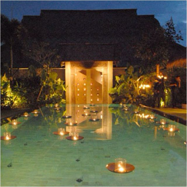 Floating Candles In A Pool Wedding Plans Pinterest Floating Candles Pools And Candles