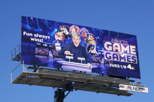 Ellen S Game Of Games Season 2 Nbc Billboard Billboard Season 2 Games