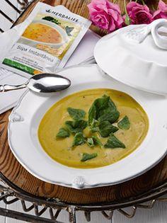 Herbalife - Sopa de Legumes e Verduras com espinafre