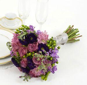ramo rosa y lila