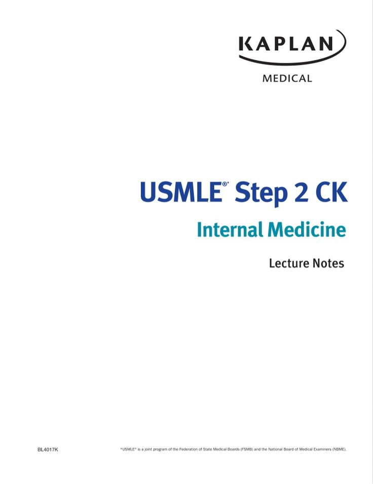 Kaplan usmle step 2 ck internal medicine lecture notes,(2014)