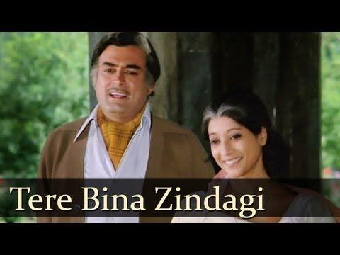 ▶ Tere Bina Zindagi Se - Aandhi - Sanjeev Kumar & Suchitra Sen - Old Hindi Songs - R.D.Burman - YouTube