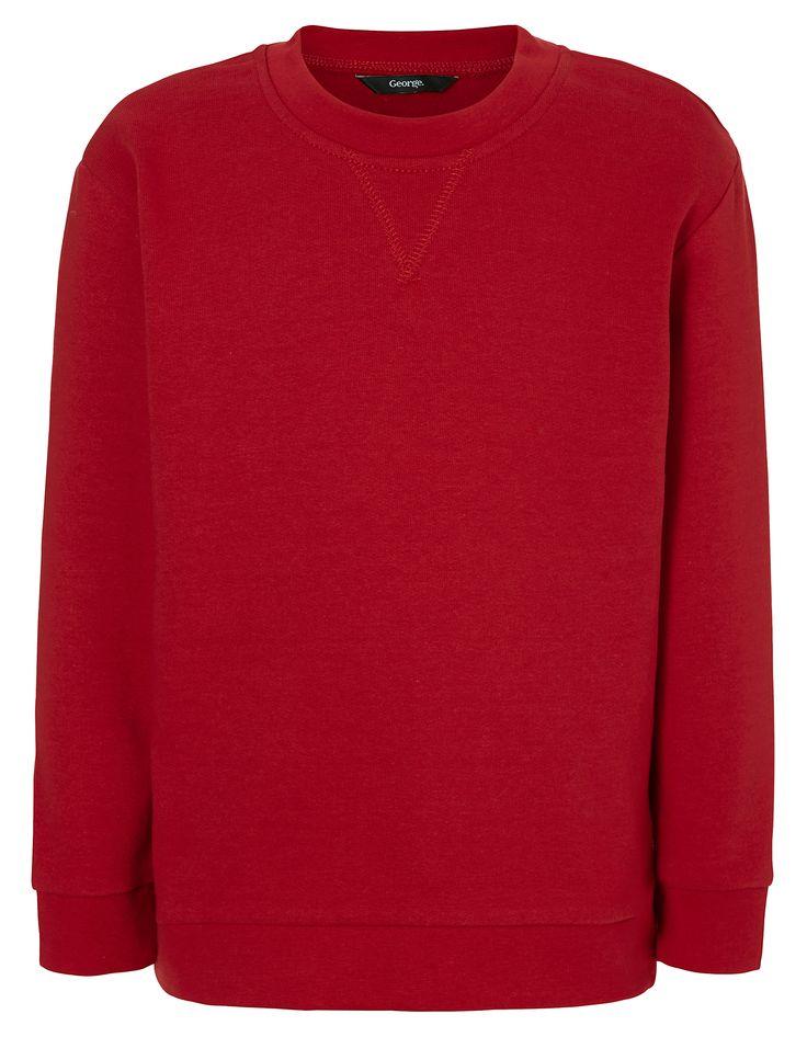 School Sweatshirt - Red | School | George at ASDA