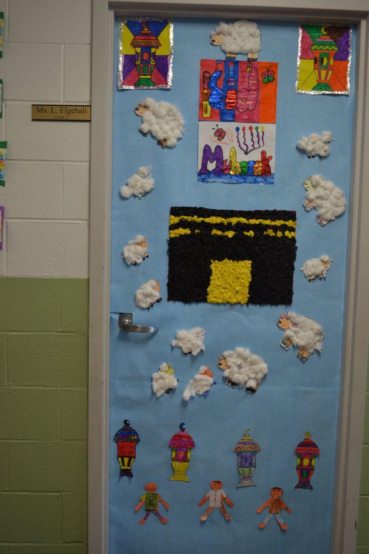 Classroom Prayer Ideas ~ Best images about ogs classroom eid door decoration on