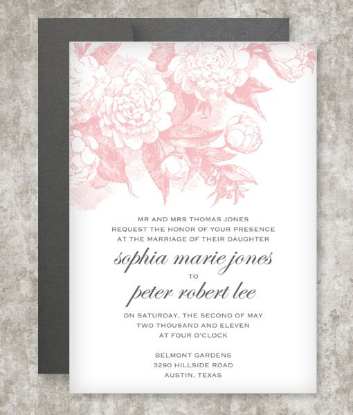 134 best DIY Wedding Invitation Templates images on Pinterest