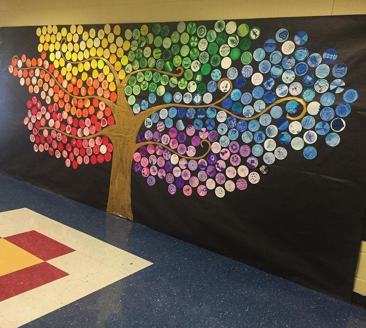 Classroom Mural Design ~ Image result for handprint mural rb pinterest