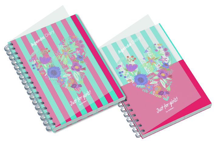 Agenda Escolar Just 4 Girls