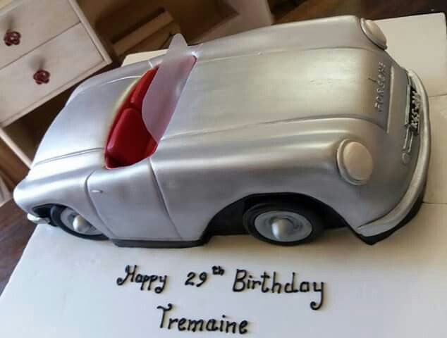 Best Car Cake Images On Pinterest Car Cakes Porsche And