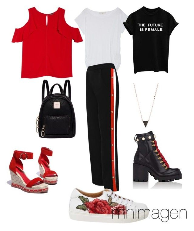 """""""sporty"""" by mhimagen on Polyvore featuring Rachel Rachel Roy, WearAll, Vince Camuto, Gucci, Fiorelli, Lana and plus size clothing"""