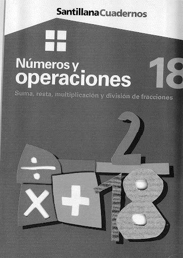 Números y operaciones 18 - Suma, resta, multiplicación y división de fracciones