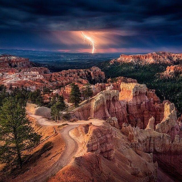 Lightning Storm in Utah #EarthPix Photography by Stefan Mitterwallner by earthpix http://ift.tt/1qcJzev